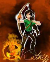 Katniss Everdeen by magicwingsforever
