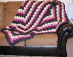 Blooming Roses Afghan by Lace-Sylph