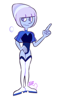 [Pearl Project] Holly blue pearl by SugahFox