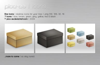 Box Icons by pica-ae