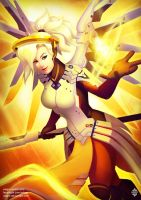 Overwatch: Mercy by Xelgot
