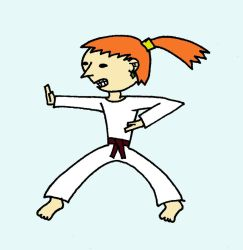 Karate Girl by Alex-S78