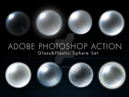 Glass n Plastic Sphere Actions by Grasycho