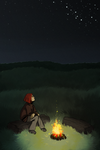 Fire and Stars by Kampfkewob