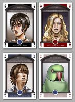 Underground Card Deck - Aces by bob-illustration