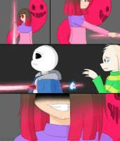 HQ/Comic/Fanart Glitchtale by PinkPearlMLP