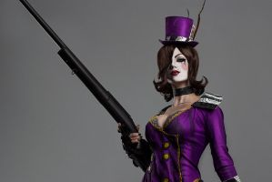 Moxxi from Borderlands2 Cosplay by shproton