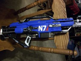 Mass Effect Rifle Complete by Frost-Claw-Studios