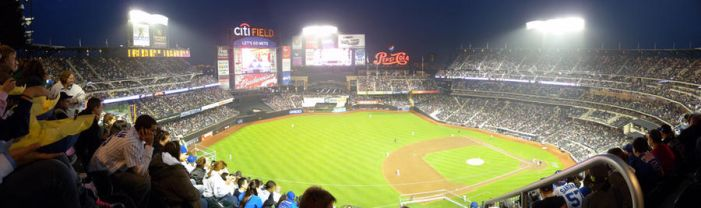 Panorama Citifield New York by Anne-Cathy