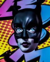 BATGIRL BOOM (detail) by Vic4U