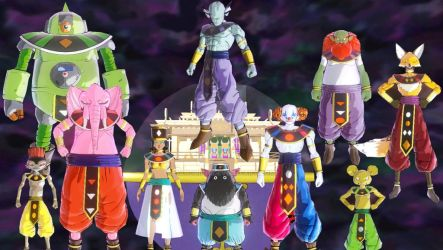 Mods Xenoverse 2 : God of Destruction by Dandrich