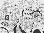 One Piece Lineart : One piece lineart by ajscorching on deviantart