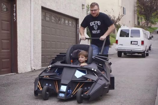 Batmobile Stroller by TimBakerFX