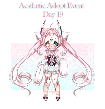 Aesthetic Event: Day 19 [1/1 OPEN] by Mewpyonadopts