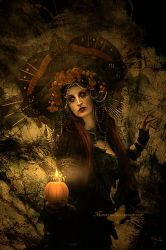 Autumn Candle by maiarcita