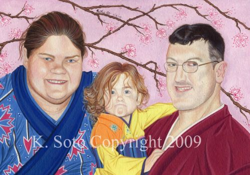 The Becker Family by Ksoto