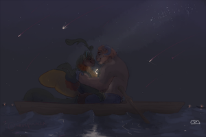 Written in the Stars [Starsea Prompt] by Wereprincex