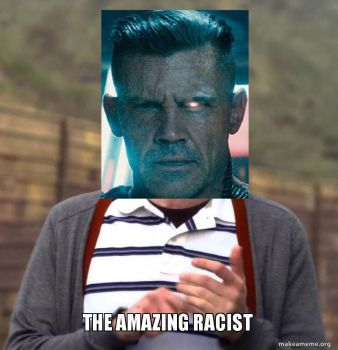 The Amazing Racist by NinjaHeart