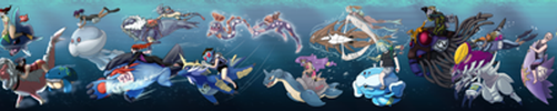 POKEMON WATER RACE - Collaboration by JWiesner