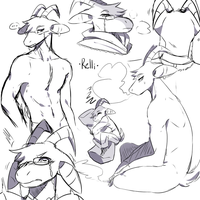 |LDB| Doodles .:Rellinal:. by KasuSei