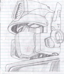 Optimus Prime by LACHLA