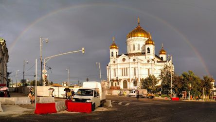 Moscow after the rain by Nickdan