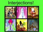 Interjections! Example by magmon47