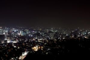 Seoul Night by Destroth