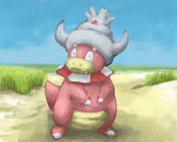 Slowking by Psidra