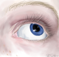 Eye Painting by NikkiFirestarter
