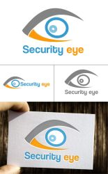 Free Security eye logo by isfahangraphic