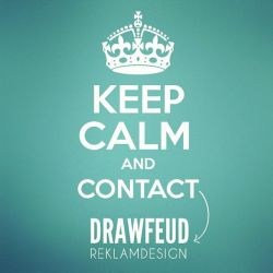 Keep calm and give a personal print on christmas by drawfeud