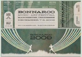 Bonnaroo 2009 Ticket by SmokesQuantity