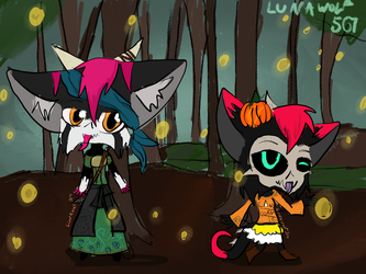 Costumes by lunawolf567