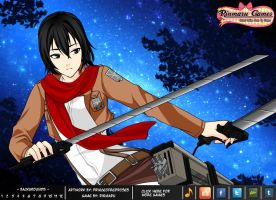 SNK cosplayer dress up game by Rinmaru