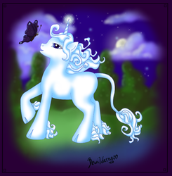 MLP G4 Style The Last Unicorn by bewilderness