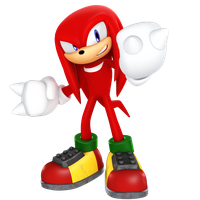 Knuckles 2018 Render by JaysonJeanChannel