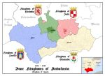 Four kingdoms of Andalusia. 1492 - 1720 by SalesWorlds