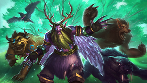 Beast Druid by jasonwang7