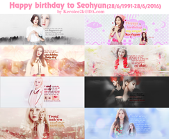 [ STOP Share] 828 Happy birthday to Seohyun SNSD by KeroLee2k