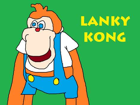Lanky Kong by MikeEddyAdmirer89
