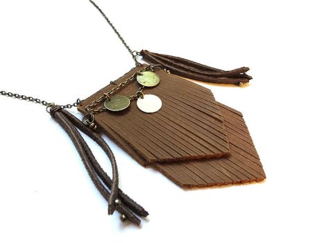 Festival Leather Necklace by i-am-enrooted