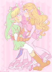 .: Zelda's My Princess :. by PinkPrincessBlossom