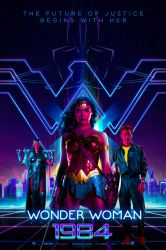 Wonder Woman 1984 (2019) Poster by bakikayaa
