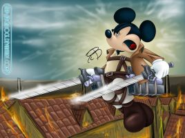 Attack On Mickey by RCBrock