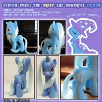 Custom Pony: Trixie by autumnalone