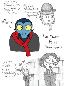 A Monster in Paris Stuff by sailorlovesong