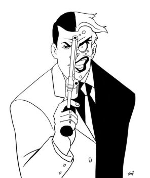 Two-Face by Sh1chiro