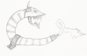 Monster of Nightmares #2 - Pencil drawing by Evylence on ...