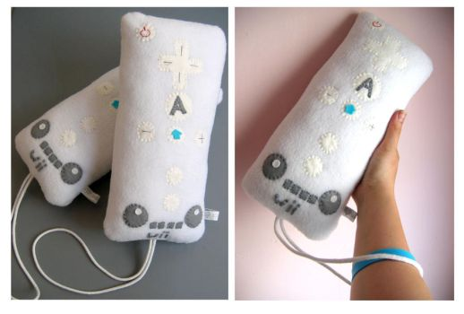 Wiimote Plush by kickass-peanut